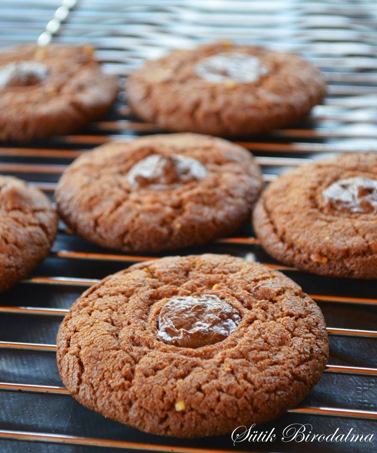 SÜTIK BIRODALMA: Mogyoróvajas keksz / Peanut butter cookies