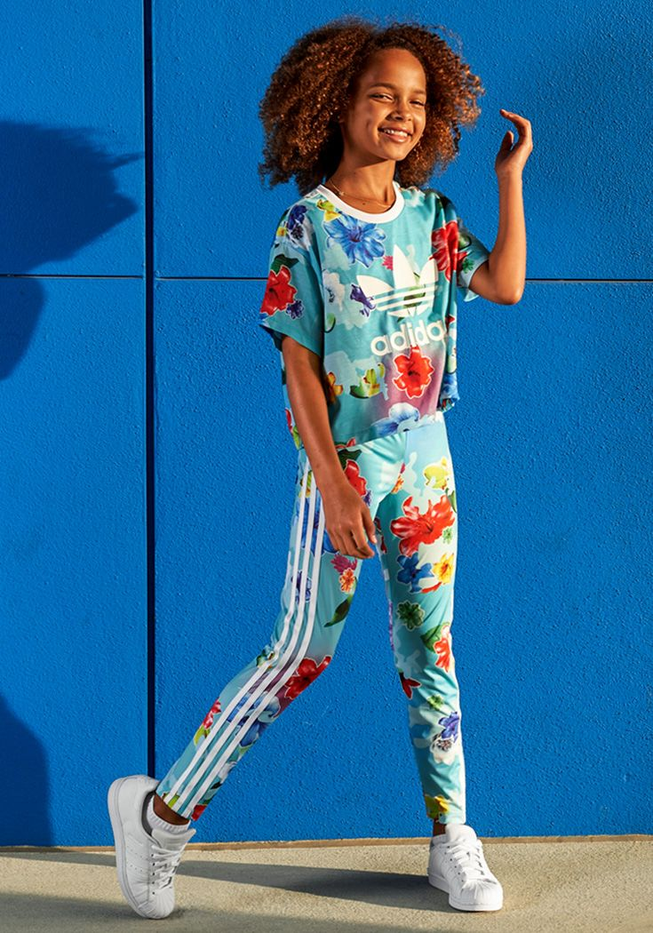 Bright. Bold. Floral. Take on spring in the latest from adidas Originals.