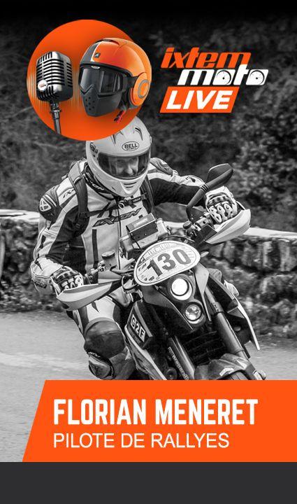 #moto #podcast #rallye Nous avons le plaisir de vous présenter les ambassadeurs Ixtem Moto sur les routes de France en 2018. Nous commençons par le Lyonnais Florian Méneret, un pilote talentueux et prometteur, qui dans ce podcast nous raconte son parcours, son approche du rallye routier et vous dévoile ses petits secrets. Nous le suivrons cette saison sur les épreuves du championnat de France.