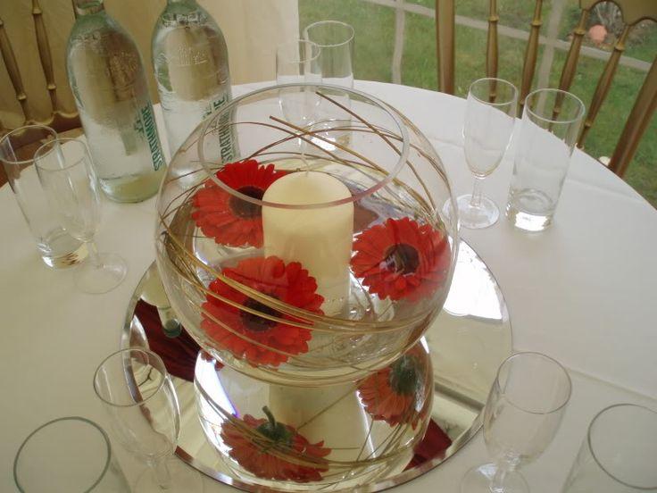 63 best fish bowls images on pinterest centerpieces flower arrangements and table centers. Black Bedroom Furniture Sets. Home Design Ideas