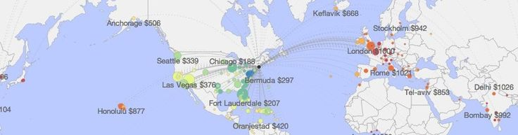 Site called Hopper lets you put in where you want to fly and tells you when to buy and the best rates you can get.