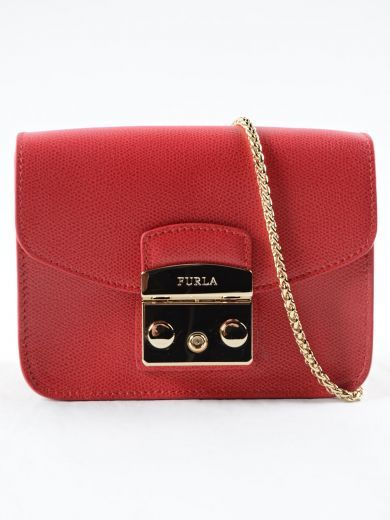 FURLA Furla Metropolis Mini Xbody. #furla #bags #shoulder bags #leather #