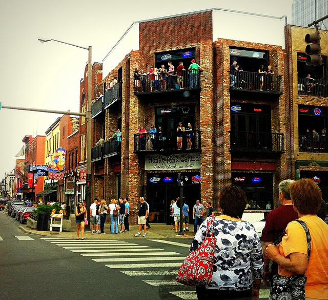 honky tonk central is an awesome three story bar to hear some great country music! #onlyinnashville