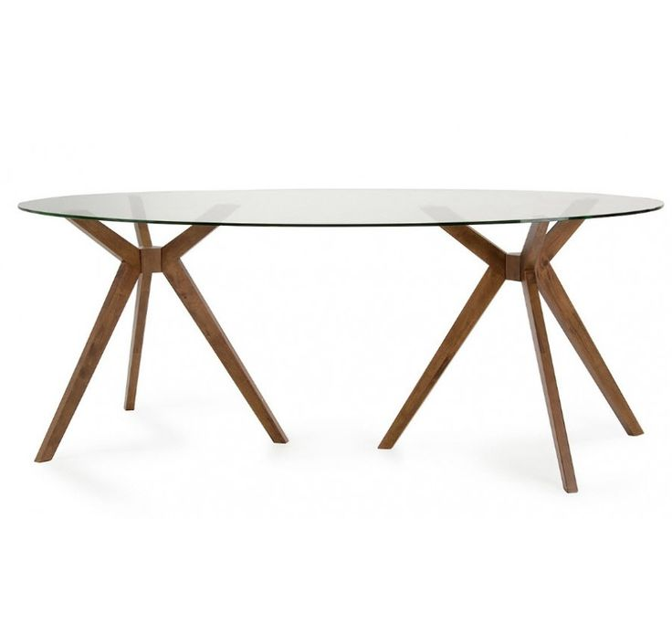 Best  Oval Dining Tables Ideas On Pinterest Oval Kitchen - Glass oval dining table