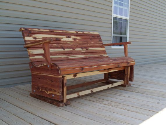 Hey, I found this really awesome Etsy listing at https://www.etsy.com/listing/218010679/outdoor-glider-glider-patio-glider-cedar