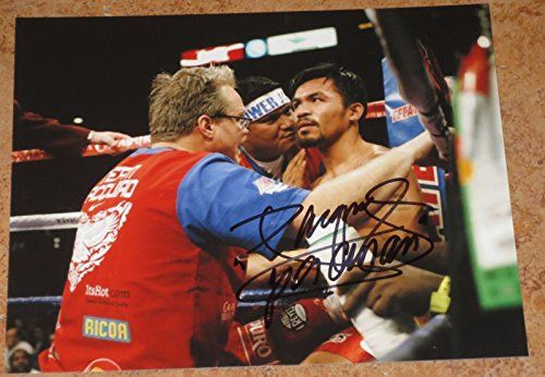 MANNY PACMAN PACQUIAO SIGNED 8X10 PHOTO AUTHENTIC AUTOGRAPH OFFICAL COA PROOF E @ niftywarehouse.com