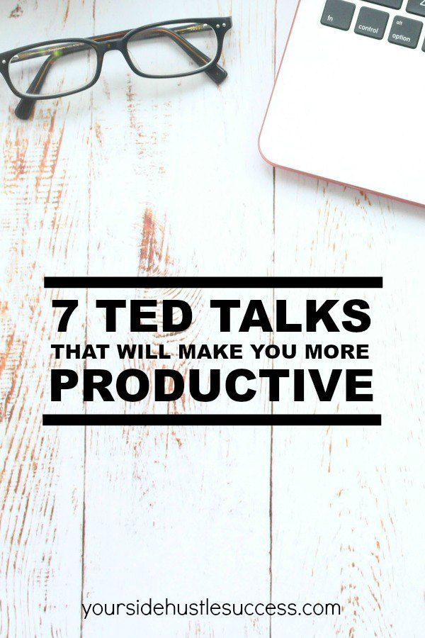 Inspiring TED Talks | Productivity Tips | Personal Development Plan | 7 TED talks that will make you more productive