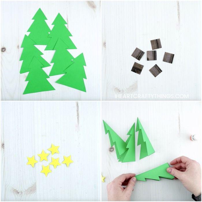 How To Make A 3d Christmas Card 3d Christmas Cards 3d Christmas Tree Card Christmas Cards