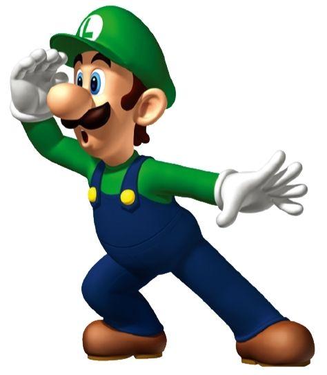Halloween Prelude: Luigi vs. Slenderman by CyberAgent369 on deviantART