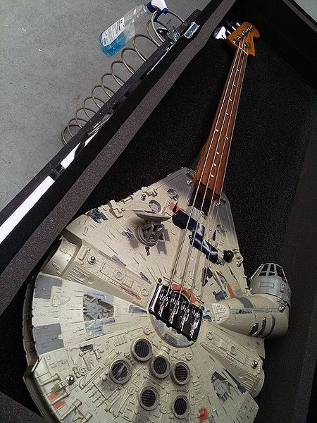 Millennium Axe - oh dear, bass and #starwars @Joe Quickle