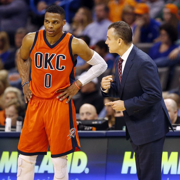 Russell Westbook's season will be totally different than two years ago says Billy Donovan