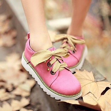 talon plat rond chaussures orteil mode de espadrilles des femmes (plus de couleurs) – EUR € 20.62