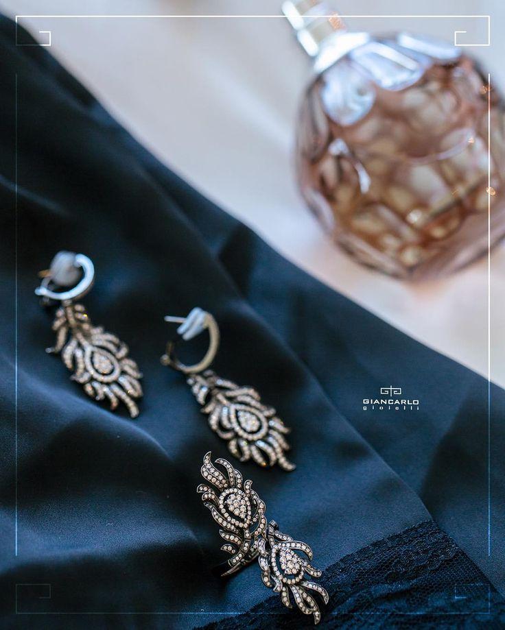 Этот роскошный бриллиантовый комплект от #Giancarlogioielli состоящий из кольца и сережек великолепно дополнит вечернее или коктейльное платье. Такой комплект подойдет сильной уверенной в себе женщине а эксклюзивный дизайн добавит образу неповторимости!  Черное золото вес - 2858 гр проба - 750 Бриллианты 353 карат /533 шт. #jewellery #gold #earrings #ring #diamonds #beauty #women #giancarlogioielli #vscogood #vscobaku #vscocam #vscobaku #vscoazerbaijan #instadaily #bakupeople #bakulife…