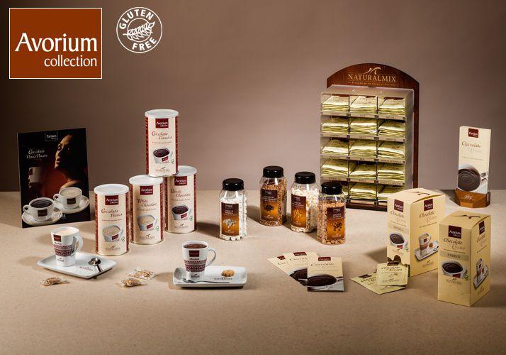 The food of the Gods - Italian Premium CHocolate  Read More http://www.solino.gr/naturalmix/cioccolate-calde.html