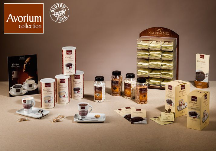 The food of the Gods - Italian Premium CHocolate  Read More http://www.solino.gr/naturalmix/cioccolate-calde.html