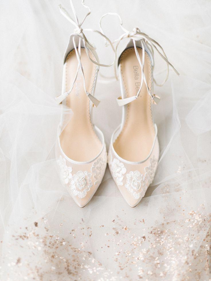 Schuhe: Bella Belle | Fotografie: Zehntel u. Anmut   – Wedding Shoes