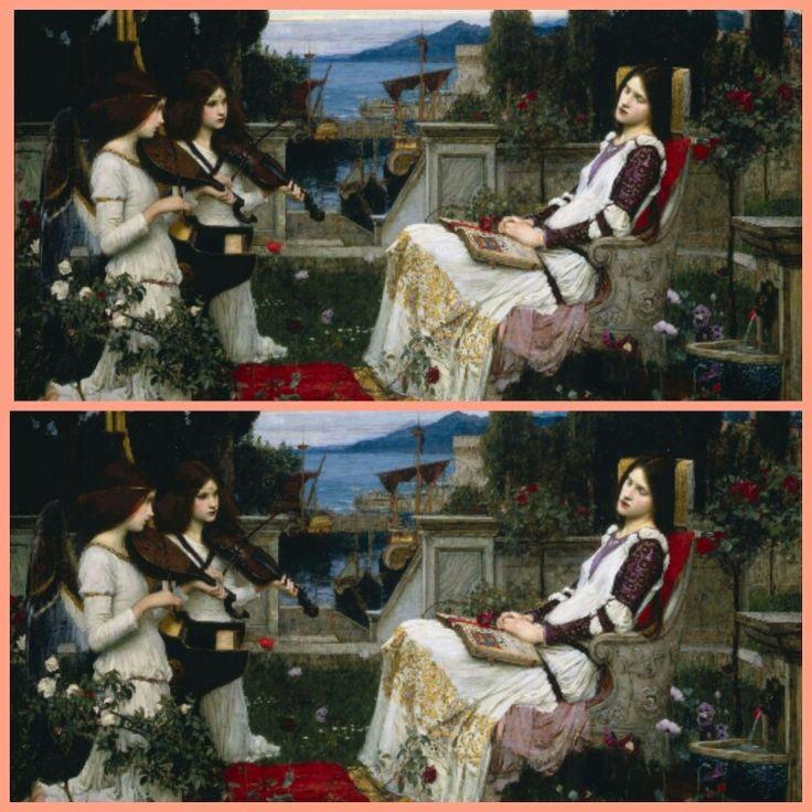 John William Waterhouse / Santa Cecilia