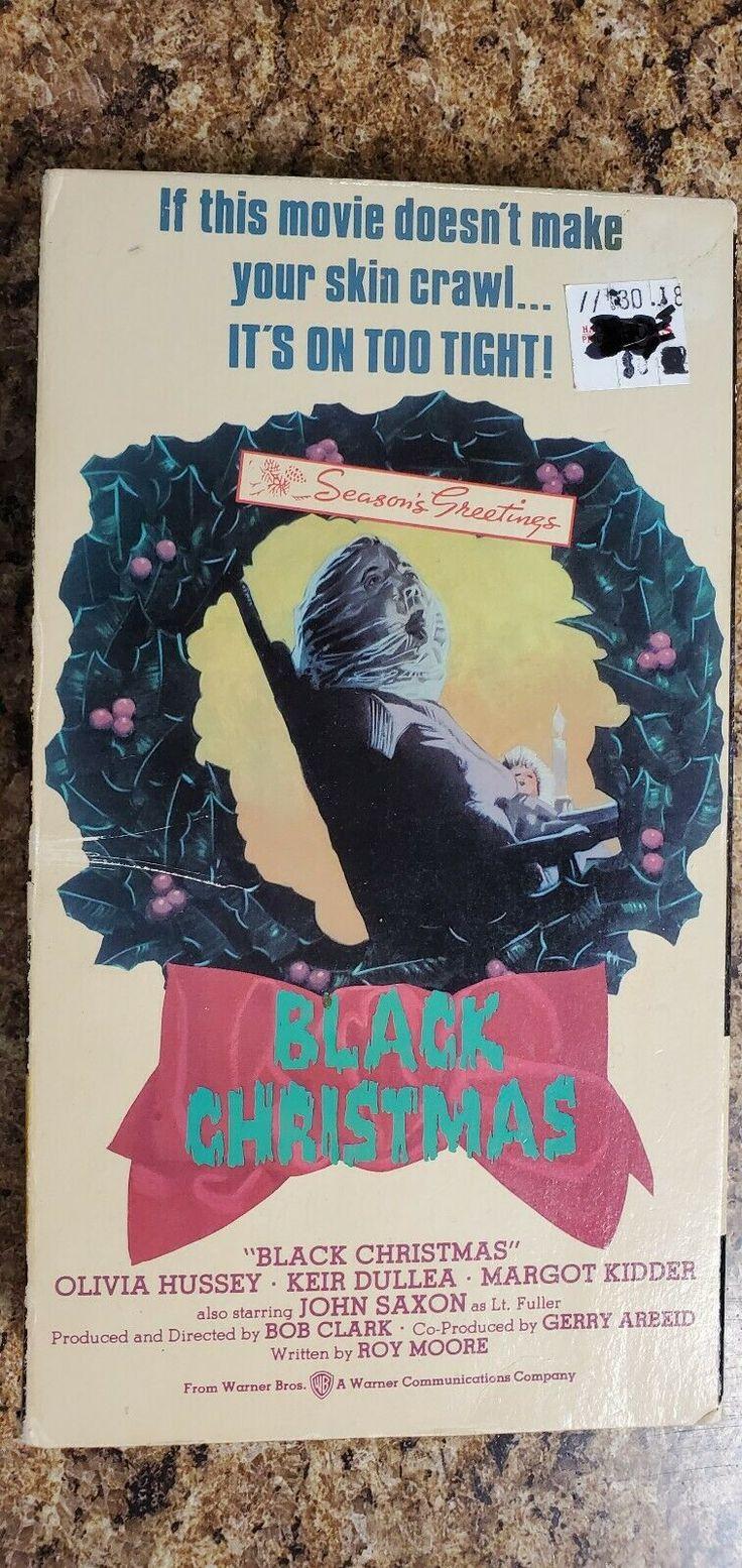 Black Christmas 1974 Vhs eBay Black christmas, Vhs