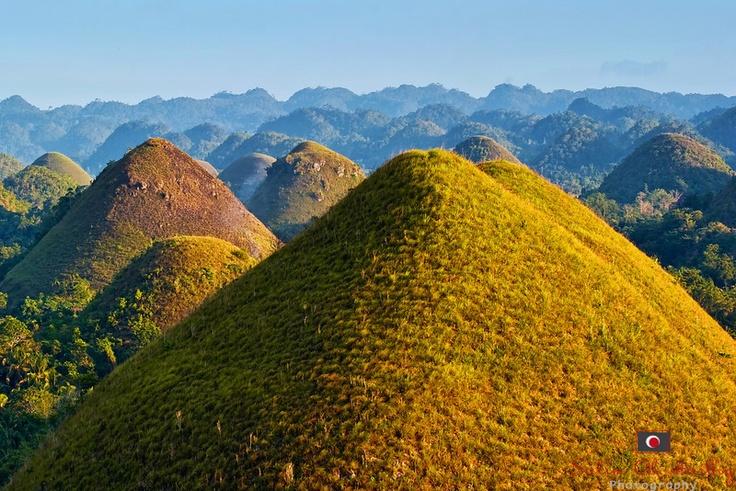 Chocolate Mountatains (Bohol, Philippines) | Dream ...