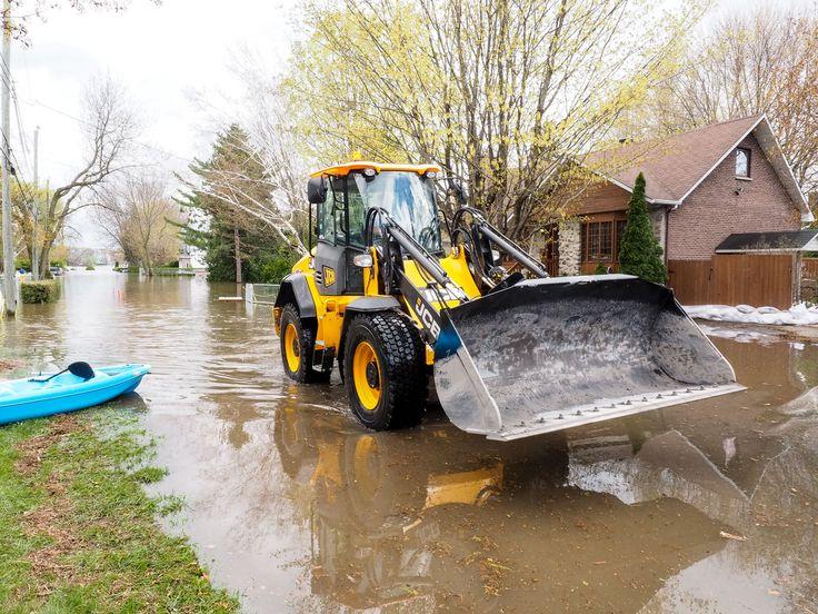 Innondations dans la région de MontréalDes innondations records ont fait des dommages importants à des milliers de maisons dans la région de Montréal