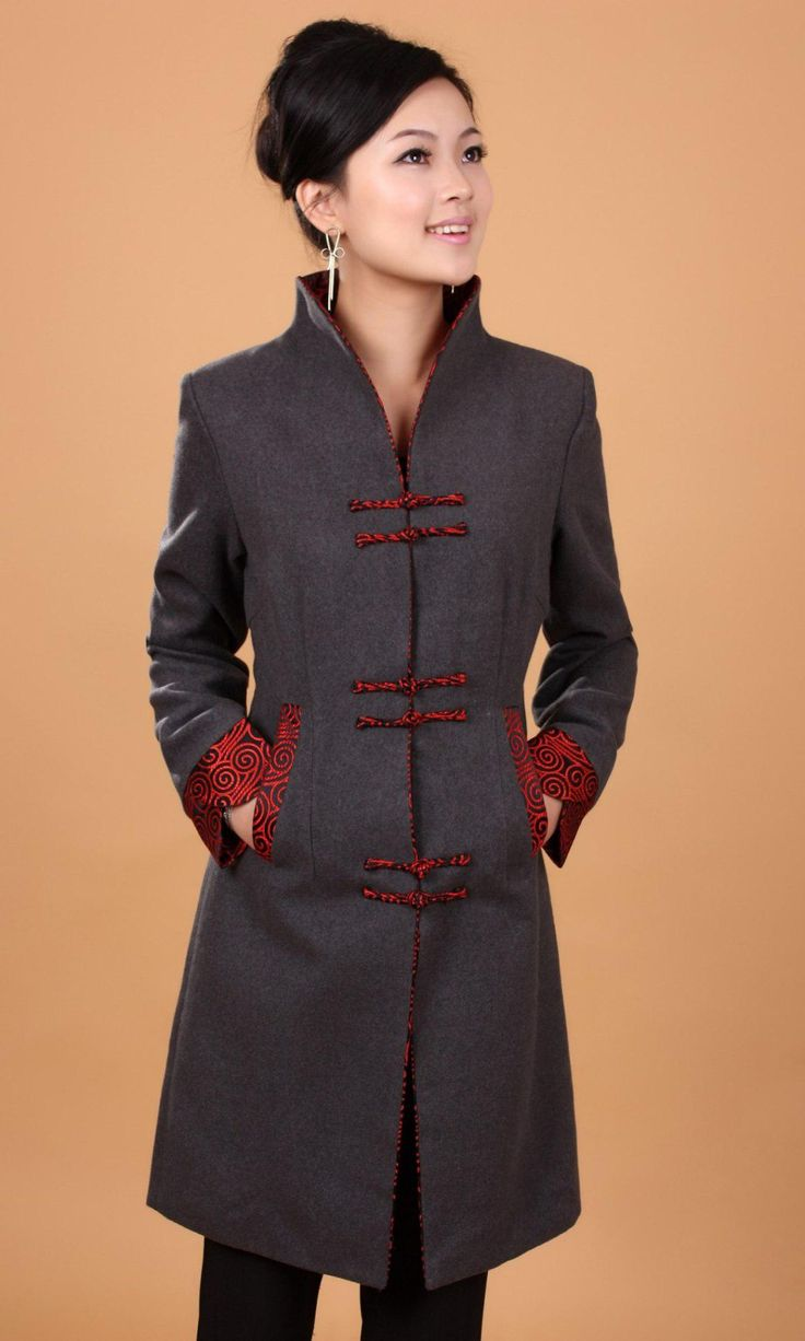Wholesale cheap traditional chinese jacke online, No   - Find best  Free Shipping 2015 new arrival Top Quality Winter Long Overcoat Chinese Women's Cashmere Jacket chinese traditional clothing 2 color 2987 at discount prices from Chinese Trench Coats supplier - lily1111 on DHgate.com.