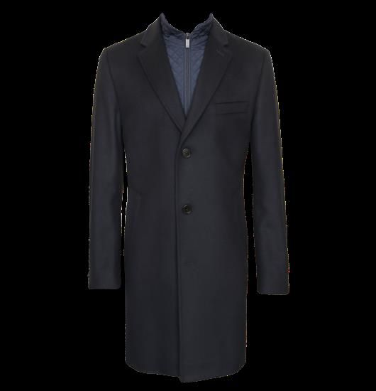 Шерстяные пальто мужское hugo