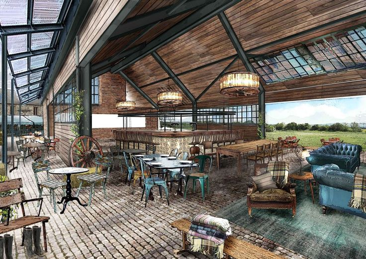 First images of the Soho Farmhouse by the Soho House group, a new boutique estate opening in Oxforshire in summer 2015.