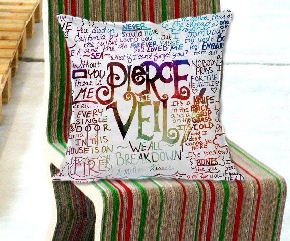 Pierce The Veil Scatter Cushion
