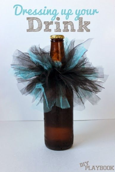 Bachelorette bottles: Diy Playbook, Bachelorette Parties Tutu, Bachelorette Parties Drinks, Pink Tutu, Bachelorette Parties Ideas, Parties Favors, Bachelorette Bottle, Wine Bottle, Bachelorette Tutu