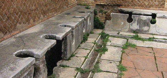 Poepen bij de Romeinen