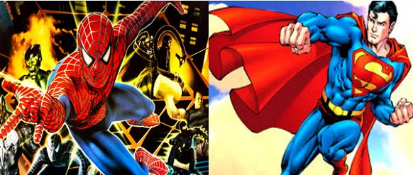 Superman or Spiderman fight- who will win?
