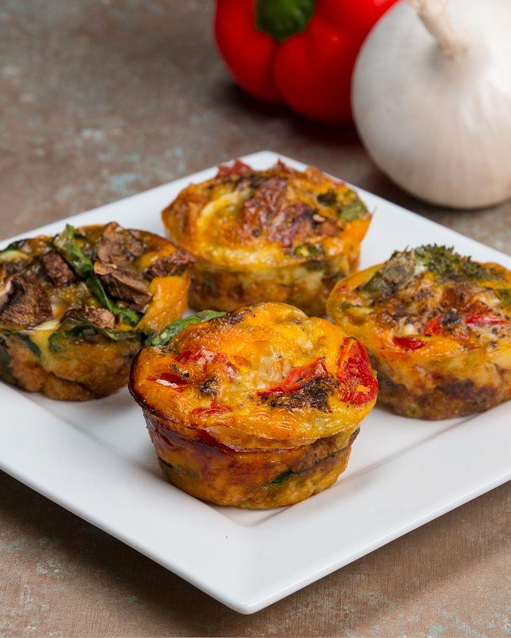 4 Healthy Muffin Tin Breakfasts