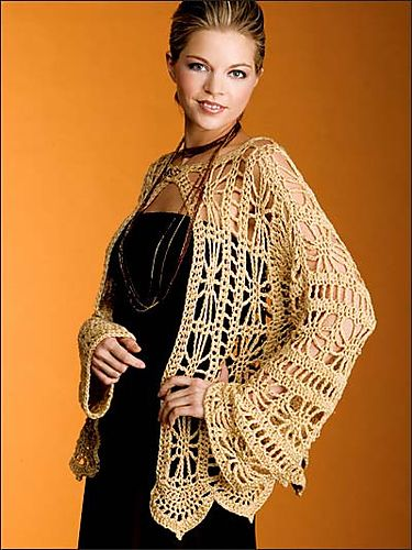 Ravelry: Golden Jacket pattern by Tammy Hildebrand