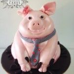 Pig Cake By Blackbird Cakes