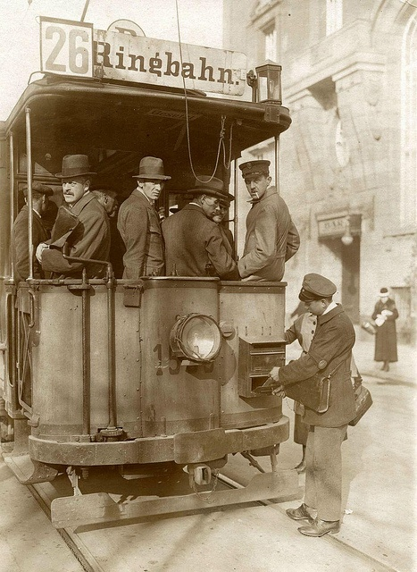 Berlin tram 1920 by janwillemsen