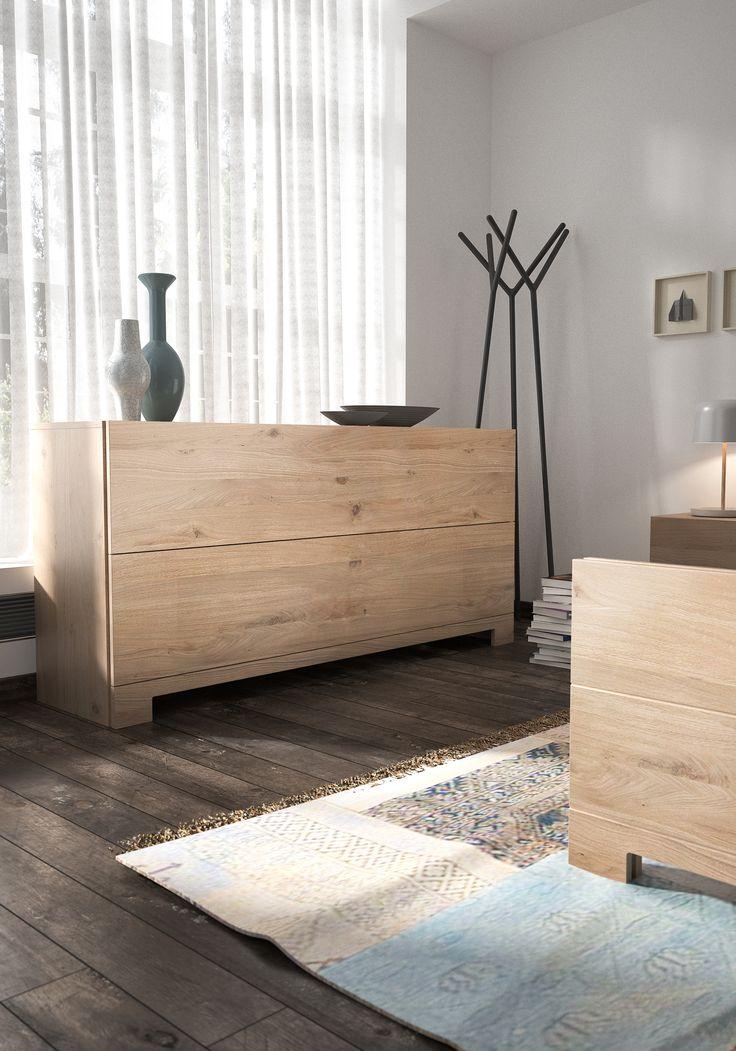 Deze houten commode zou mooi staan in jouw interieur. Verkrijgbaar bij Meubelen Larridon. #hout #commode #slaapkamer #meubilair #meubelenlarridon