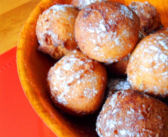 "These are delicious donuts from the Comoros islands named ""Donas""! It's a traditional dessert that you can easily share with family and friends during this holiday season!"