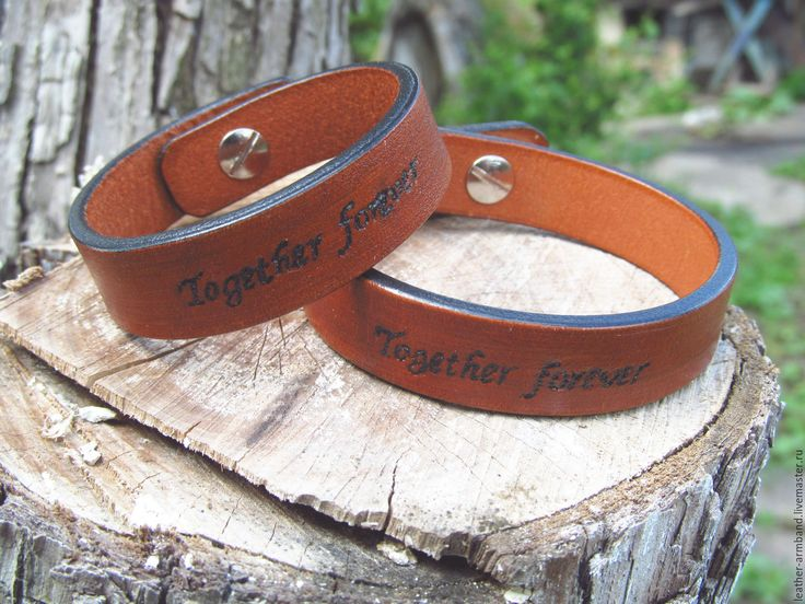 """Купить Парные браслеты для влюбленных """"Together forever"""" - Вместе навсегда…"""