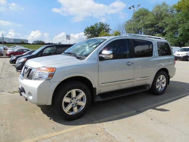 2014 nissan armada platinum 4x4 platinum 4dr suv suv 4 doors silver for sale in columbia mo. Black Bedroom Furniture Sets. Home Design Ideas