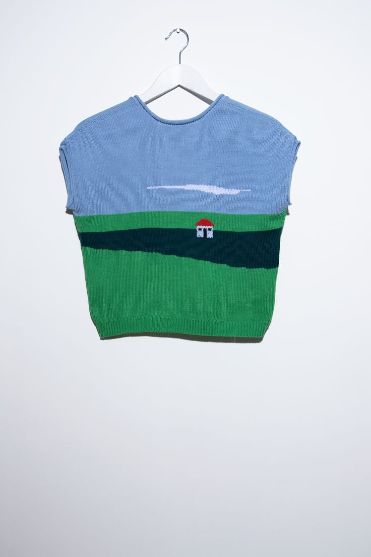Can someone knit this for me? I'll pay you money. Just not $175. It looks like one of my mom's paintings!