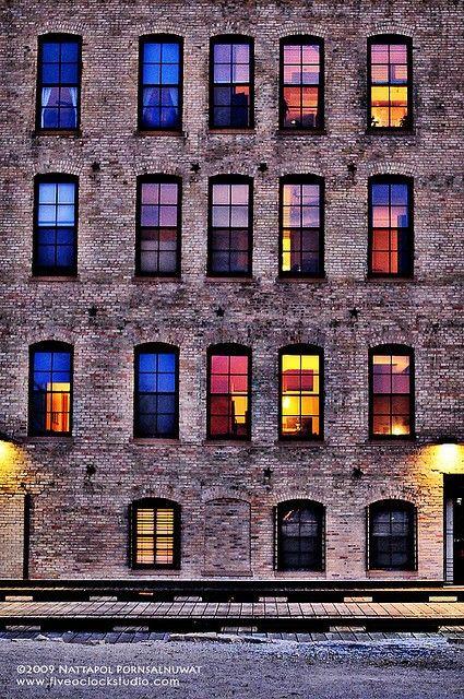 colored windows...cool