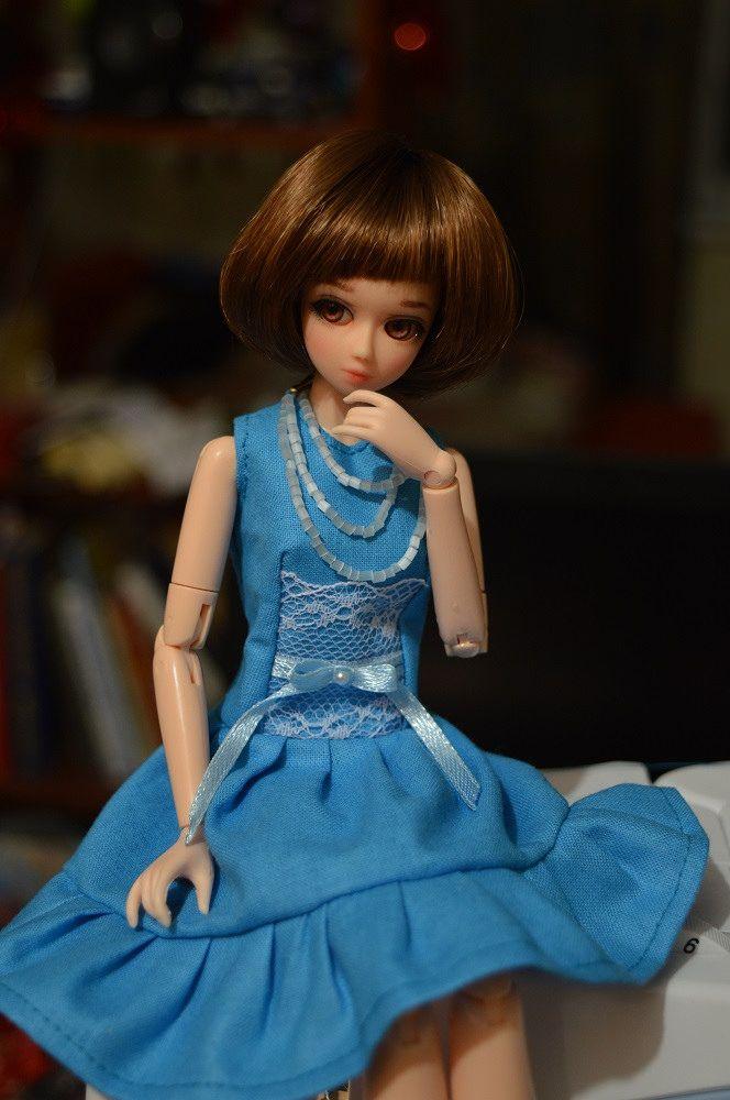 https://flic.kr/p/r6N66V | First shots | of my Obitsu doll - Eve (Eva)