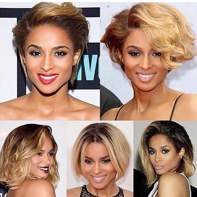 HAIRSPIRATION| #TBT to some of @ciara's #bob hairstyles ✂️ #voiceofhair ✂️========================== Go to VoiceOfHair.com ========================= Find hairstyles and hair tips! =========================