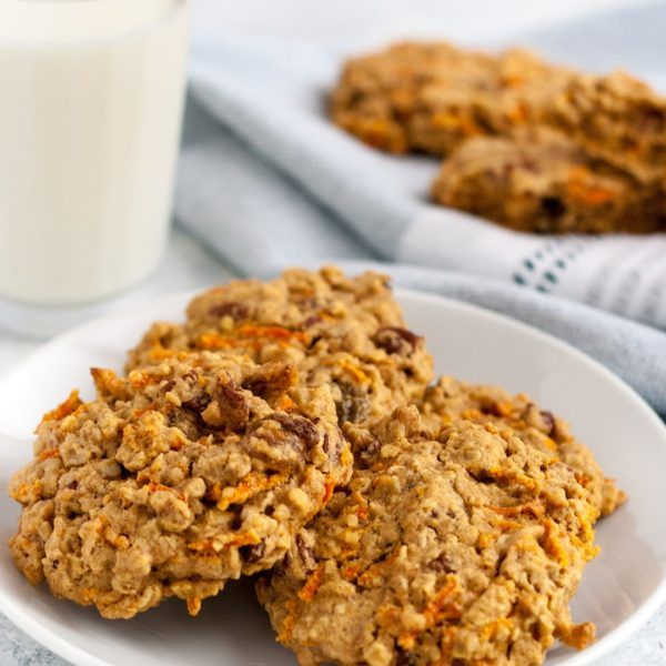 Whip up a batch of these Carrot Cake Breakfast Cookies on a lazy Sunday afternoon for a grab-and-go breakfast throughout the week.