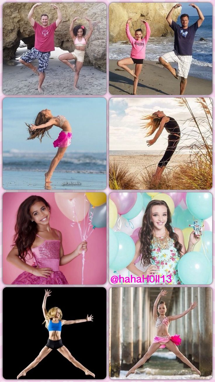 The Dance Moms girls and their similar photoshoots:) credit to @hahaH0ll13