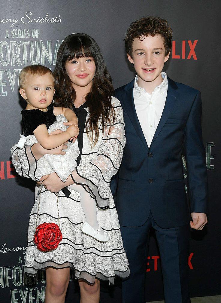 According to its stars Patrick Warburton (Lemony Snicket), Malina Weissman (Violet Baudelaire), and Louis Hynes (Klaus Baudelaire).