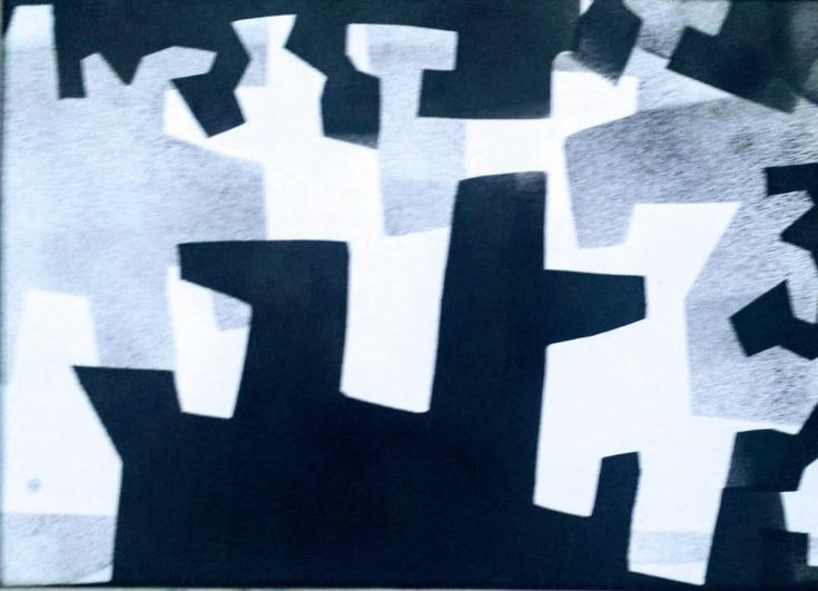 #collage#abstracto#papel#reciclaje#papel_prensa#papel_publicitario#tecnica_mixta#tinta#estarcido#esténcil#papel_reutilizado#morenoamor