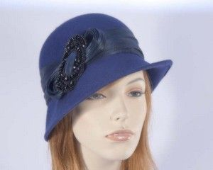 Winter fashion cloche hat for races buy online in Australia F558