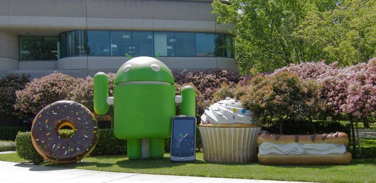 Cupcake, Donut, Eclair, Froyo, Gingerbread, Honeycomb, Ice Cream Sandwich... Google Android OS Code Names and History