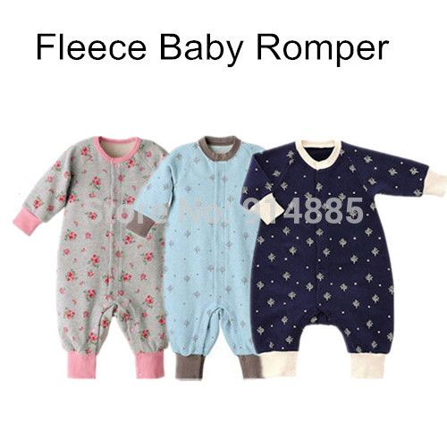 Find More Rompers Information about Winter Soft  Warm Fleece Baby Romper Coral Fleece Velvet Romper Toddler Boy Girl's Jumpsuit Outfit Outwear One Piece 0 12M,High Quality fleece gold,China fleec blanket Suppliers, Cheap fleece baby romper from Ins Baby Store on Aliexpress.com